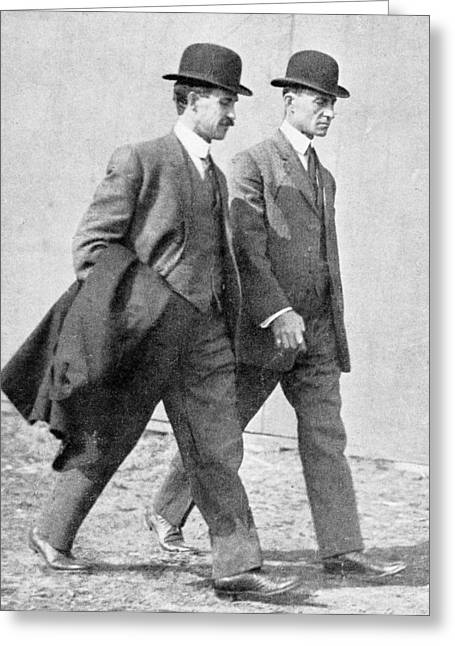 Recently Sold -  - Pairs Greeting Cards - The Wright Brothers, Us Aviation Pioneers Greeting Card by Science, Industry & Business Librarynew York Public Library