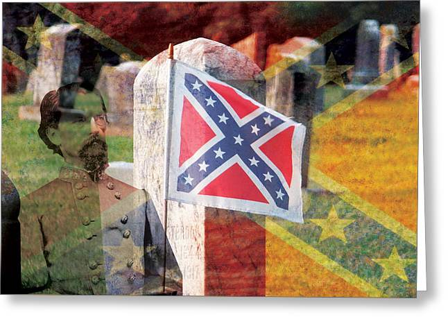 Confederate Flag Greeting Cards - The Wrong Story Greeting Card by Bryant Dodd