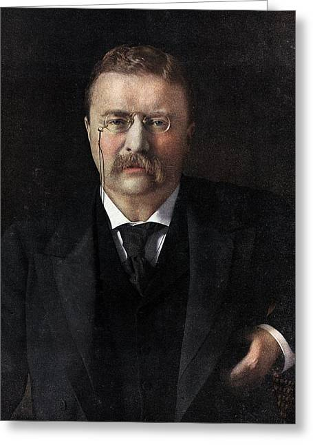 Theodore Roosevelt Greeting Card by American School