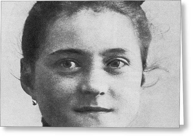 Famous Person Greeting Cards - Therese De Lisieux Greeting Card by Photo Researchers