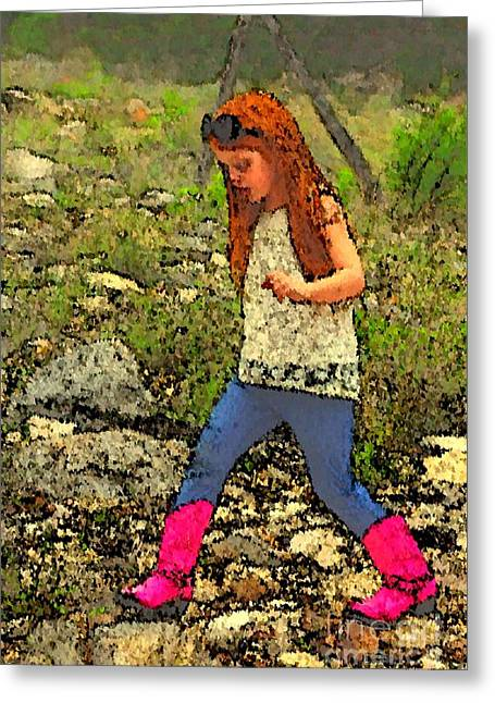 Best Seller Greeting Cards - These Boots Are Made For Walkin Greeting Card by Beth Wiseman