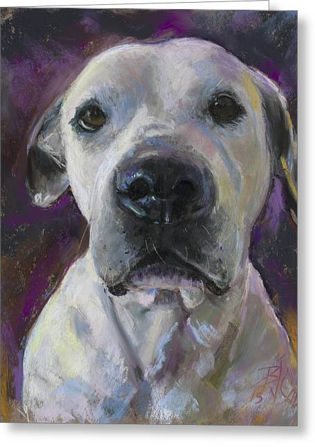 They Call Me Eddie Greeting Card by Billie Colson
