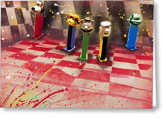 Pez Greeting Cards - They Still Belong to Soul Greeting Card by Iosua Tai Taeoalii