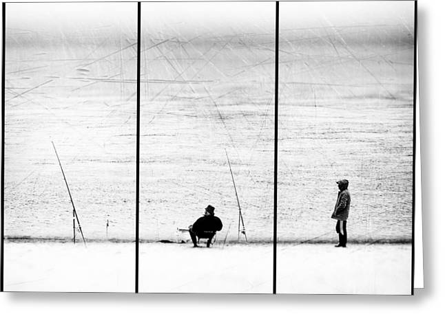 Triptych Greeting Cards - Things We Never Did Greeting Card by Paulo Abrantes