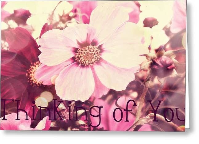 Northwest Flowers Greeting Cards - Thinking of you Card Greeting Card by Cathie Tyler