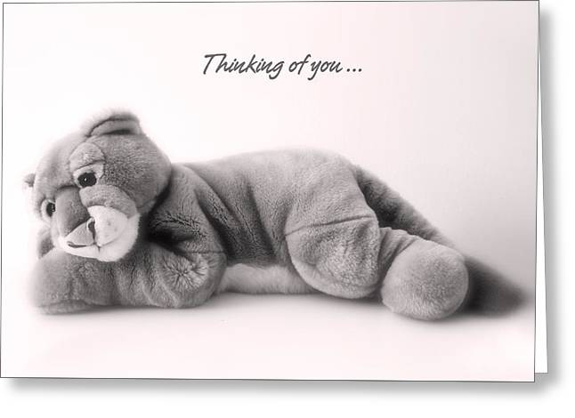 Tender Thoughts Greeting Cards - Thinking of you Greeting Card by Gina Dsgn