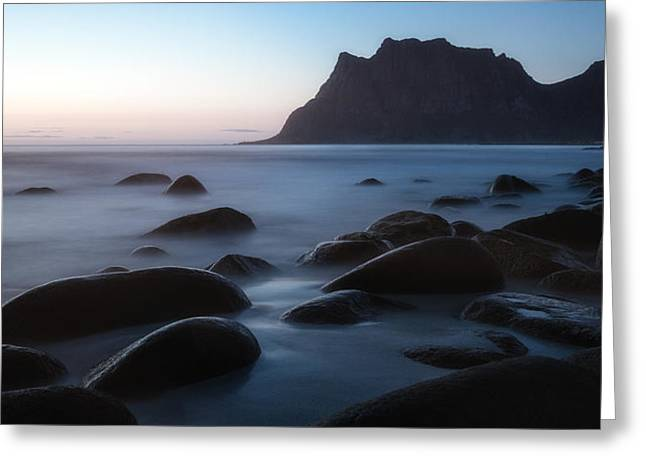 Lofoten Greeting Cards - This aint goodbye Greeting Card by Tor-Ivar Naess