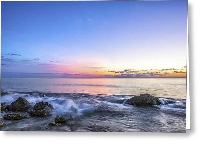 Ocean Panorama Greeting Cards - This Before Greeting Card by Jon Glaser