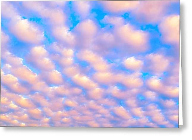 This Is A Sky Image Of Almost Wall Greeting Card by Panoramic Images