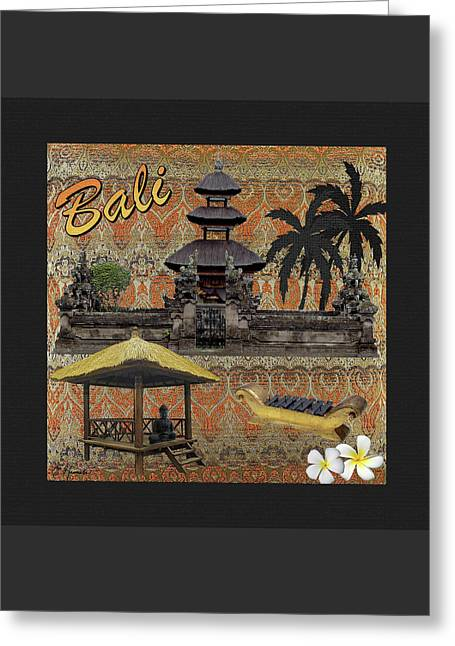 This Is Bali Greeting Card by Ellen Henneke