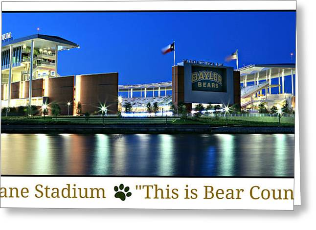 Sidelines Greeting Cards - This Is Bear Country Greeting Card by Stephen Stookey