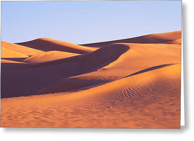 This Is Great Sand Dunes National Park Greeting Card by Panoramic Images