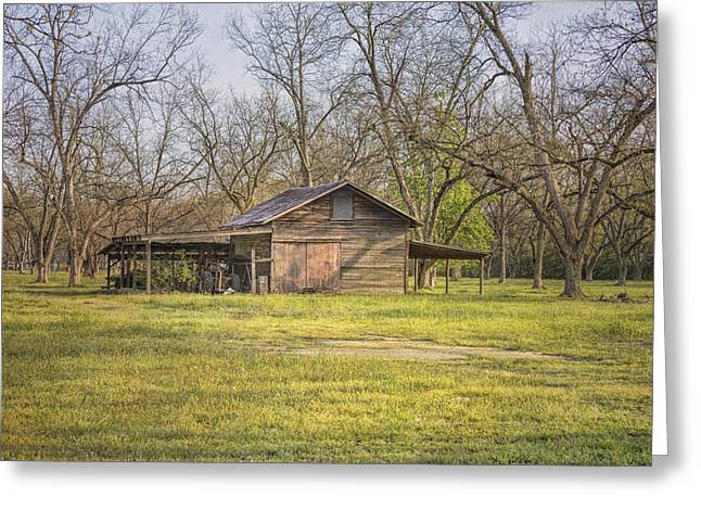 Shed Greeting Cards - This Old Barn Greeting Card by Kim Hojnacki