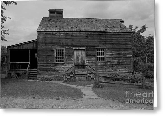 Rood Greeting Cards - This Old House Greeting Card by Kathleen Struckle