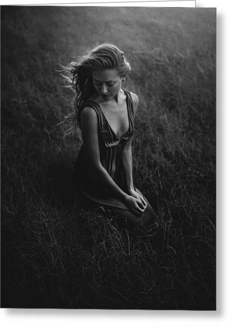 Artistic Photography Greeting Cards - This Place  Greeting Card by TJ Drysdale