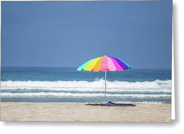 This, This Is Summer Greeting Card by Peter Tellone