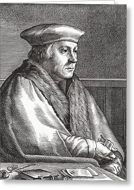 Cromwell Greeting Cards - Thomas Cromwell, 1st Earl Of Essex, C Greeting Card by Ken Welsh