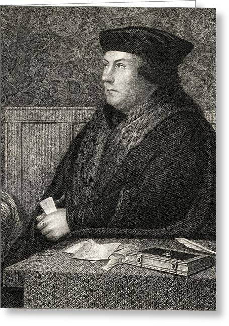 Cromwell Greeting Cards - Thomas Cromwell Earl Of Essex,baron Greeting Card by Ken Welsh