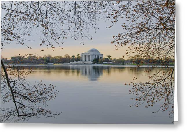 Bill Cannon Photography Greeting Cards - Thomas Jefferson Memorial in Spring Greeting Card by Bill Cannon