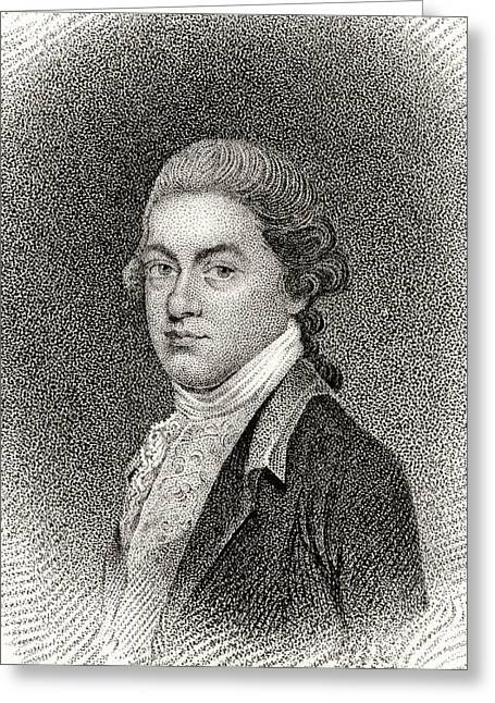 Signatories Greeting Cards - Thomas Lynch Jr 1749 To 1779 American Greeting Card by Ken Welsh