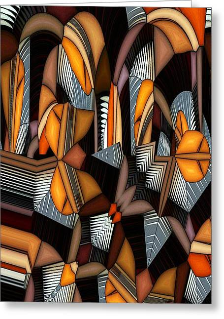 White Teeth Greeting Cards - Thorny Greeting Card by Ron Bissett