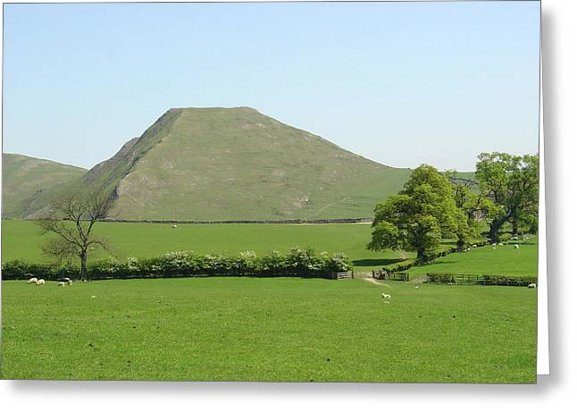 Hills Greeting Cards - Thorpe Cloud - Derbyshire Greeting Card by Rod Johnson