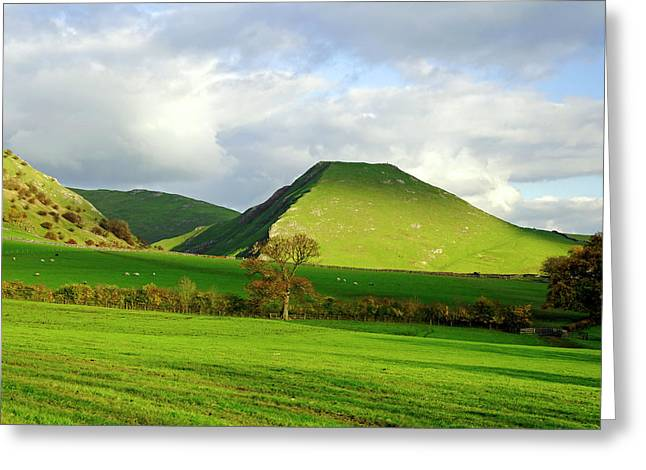 Peak District Greeting Cards - Thorpe Cloud from Bunster Hill Greeting Card by Rod Johnson
