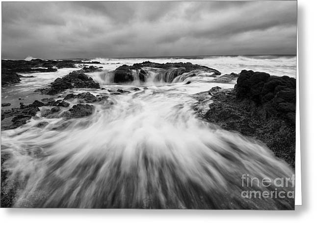 Flowing Wells Greeting Cards - Thors Well Oregon Truly A Place Of Magic 8 Greeting Card by Bob Christopher