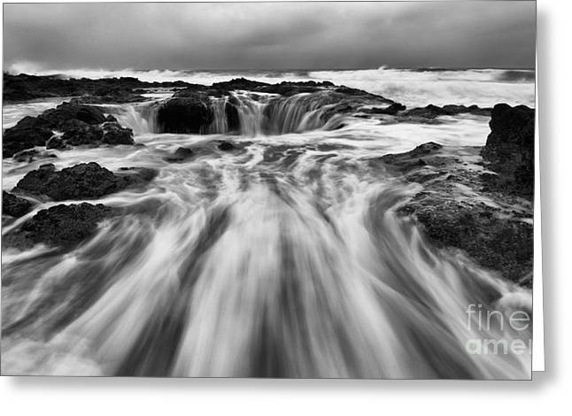 Flowing Wells Greeting Cards - Thors Well Truly A Place Of Magic 6 Greeting Card by Bob Christopher