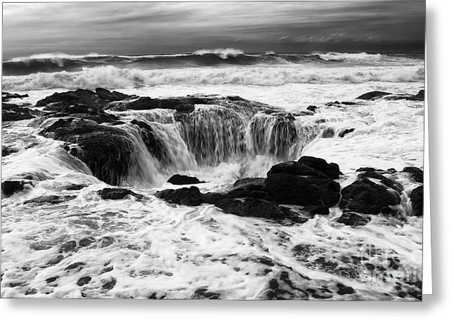 Flowing Wells Greeting Cards - Thors Well Truly A Place Of Magic 7 Greeting Card by Bob Christopher
