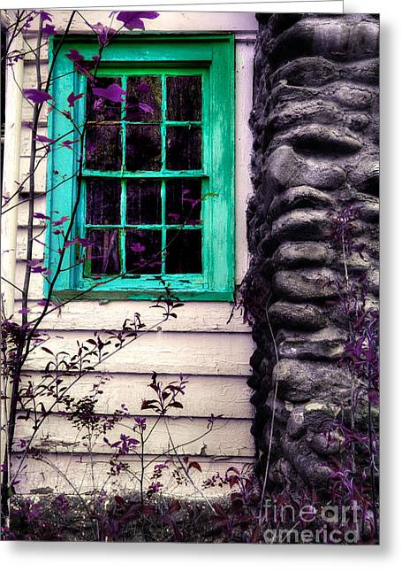 Abandoned Houses Greeting Cards - Those Times Live In Our Dreams Greeting Card by Michael Eingle