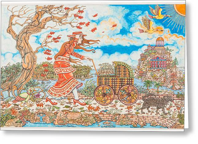 Dress Greeting Cards - Those Who are Born of Breath Greeting Card by Rick MacGregor