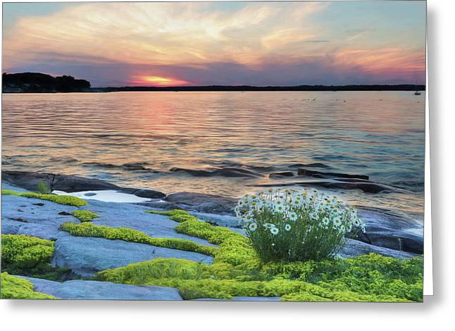 Thousand Islands Bliss Greeting Card by Lori Deiter