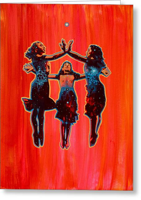 Empowerment Greeting Cards - Three Greeting Card by Heather Caulfield
