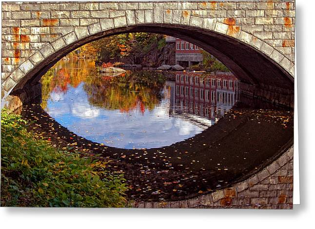 Through the Looking Glass Greeting Card by Joann Vitali