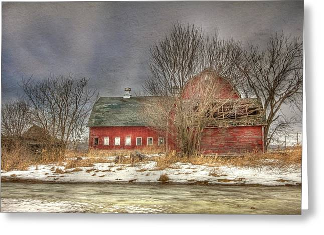 Through the Roof Greeting Card by Lori Deiter