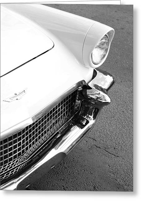 Car Grill Greeting Cards - Thunder bird Greeting Card by Jerry Cordeiro