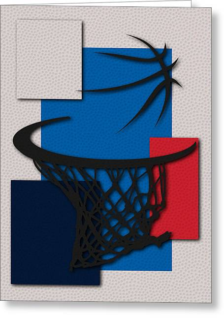 Dunk Photographs Greeting Cards - Thunder Hoop Greeting Card by Joe Hamilton
