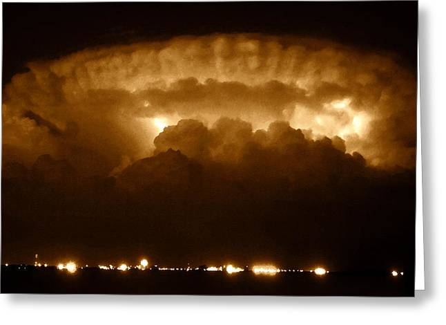Thundercloud Greeting Card by David Lee Thompson