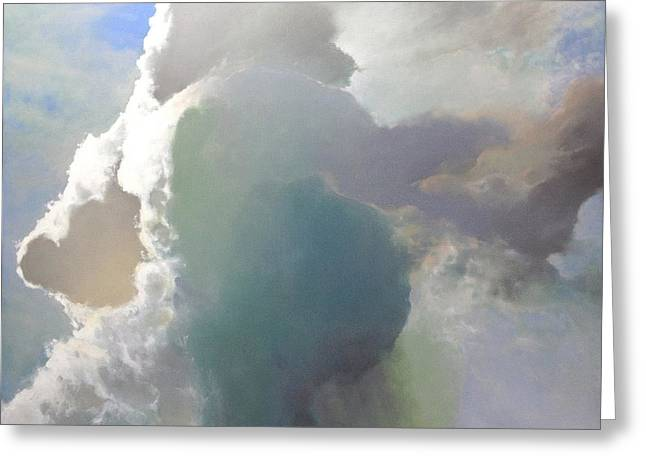Thunderhead Greeting Card by Cap Pannell
