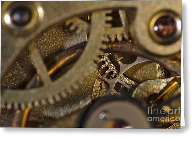 Mechanism Greeting Cards - Tic Tac Wheels Greeting Card by Angelo DeVal