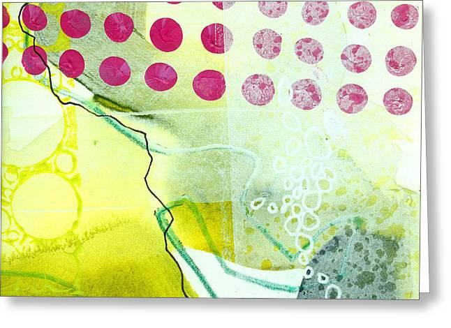 Grid Greeting Cards - Tidal 19 Greeting Card by Jane Davies