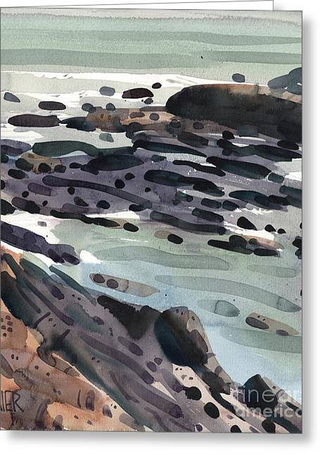 Pacific Greeting Cards - Tidal Pools Greeting Card by Donald Maier