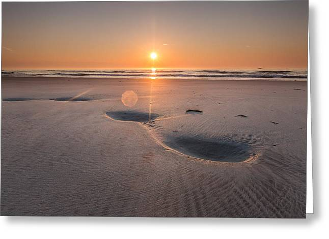 New England Ocean Greeting Cards - Tides Creation Greeting Card by Jeremy Noyes