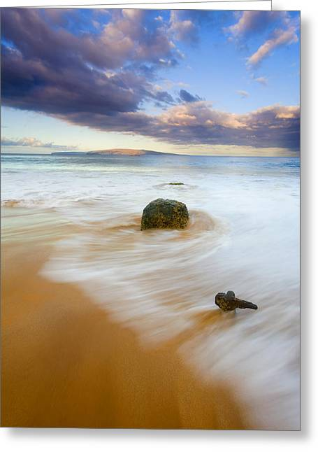 ; Maui Greeting Cards - Tied to the Past Greeting Card by Mike  Dawson