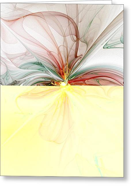 Best Sellers -  - Floral Digital Art Greeting Cards - Tiger Lily Greeting Card by Amanda Moore