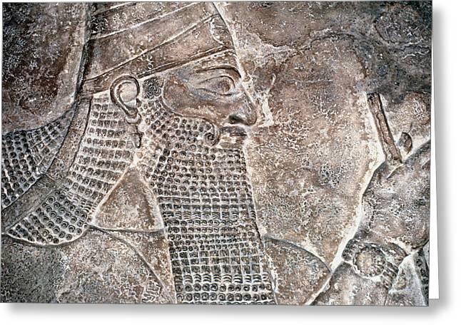 8th Century Greeting Cards - Tiglath Pileser Iii Greeting Card by Granger