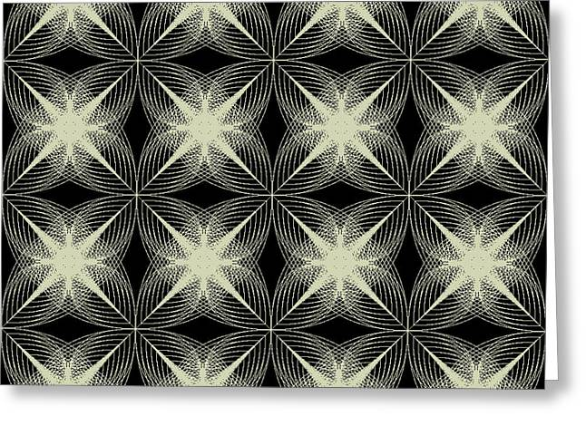 Images Greeting Cards - Tiles.2.182 Greeting Card by Gareth Lewis