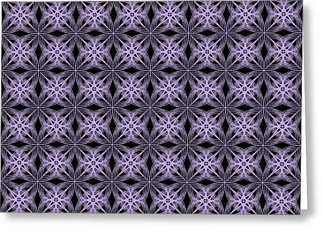 Geometric Artwork Greeting Cards - Tiles.2.244 Greeting Card by Gareth Lewis