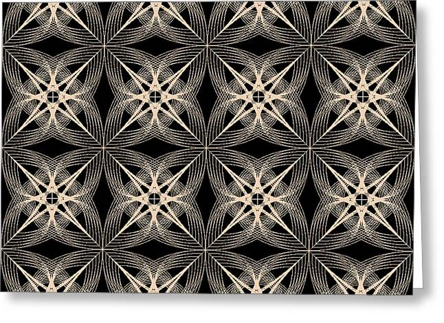 Tiles.2.256 Greeting Card by Gareth Lewis